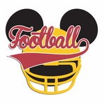 Mouse Sports: Mouse Football Laser Die Cut