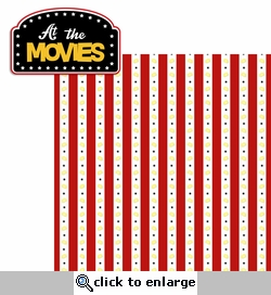 Movie Time: At the Movies 2 Piece Laser Die Cut Kit