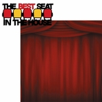 Movie Time: Best Seat 2 Piece Laser Die Cut Kit