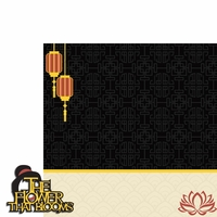 Mulan: Flower Bloom 2 Piece Laser Die Cut Kit