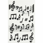 Music Notes Medium Stickers