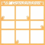 My Grandchildren 12 x 12 Overlay Laser Die Cut