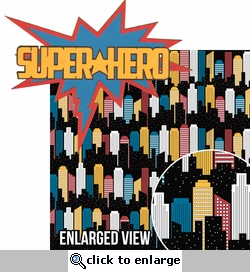My Hero: Super Hero 2 Piece Laser Die Cut Kit