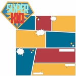My Hero: Super Kid 2 Piece Laser Die Cut Kit