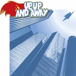 My Hero: Up, Up And Away 2 Piece Laser Die Cut Kit