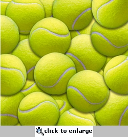 Name of the Game: Tennis Balls 12 x 12 Double-Sided Paper