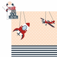 Nation's Capital: Air and Space Museum 2 Piece Laser Die Cut Kit