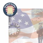 Nation's Capital: Arlington National Cemetary 2 Piece Laser Die Cut Kit