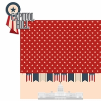Nation's Capital: Capital Hill 2 Piece Laser Die Cut Kit