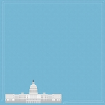 Nation's Capital: Capitol Building 12 x 12 Paper