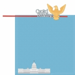 Nation's Capital: Capitol Building 2 Piece Laser Die Cut Kit
