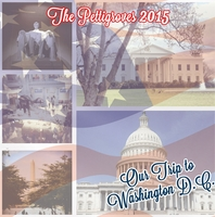 Nation's Capital: Collage Custom 12 x 12 Paper