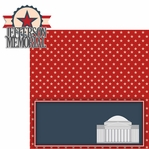 Nation's Capital: Jefferson Memorial 2 Piece Laser Die Cut Kit
