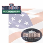 Nation's Capital: The White House 2 Piece Laser Die Cut Kit