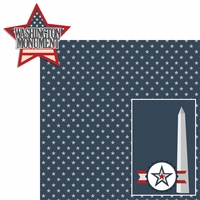 Nation's Capital: Washington Monument 2 Piece Laser Die Cut Kit