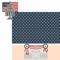 Nation's Capital: White House 2 Piece Laser Die Cut Kit