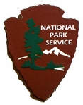 National Park Insignia Laser Die Cut