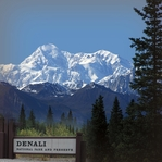 National Parks: Denali 12x12 Paper