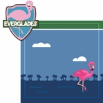 National Parks: Everglades 2 Piece Laser Die Cut Kit