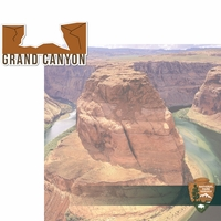 National Parks: Grand Canyon 2 Piece Laser Die Cut Kit