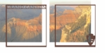 National Parks: Grand Canyon Double 12 x 12 Overlay Quick Page Laser Die Cut