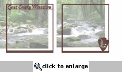 National Parks: Great Smoky Mountains Double 12 x 12 Overlay Quick Page Laser Die Cut