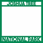 National Parks: Joshua Tree 12 x 12 Overlay Laser Die Cut
