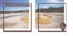 National Parks: Yellowstone Double 12 x 12 Overlay Quick Page Laser Die Cut