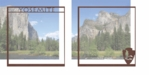 National Parks: Yosemite Double 12 x 12 Overlay Quick Page Laser Die Cut