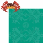 Native American: Native American 2 Piece Laser Die Cut Kit