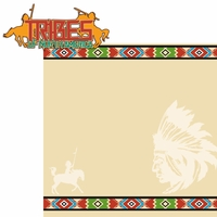 Native American: Tribes 2 Piece Laser Die Cut Kit