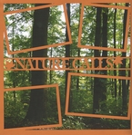 Nature Calls 12 x 12 Overlay Quick Page Laser Die Cut