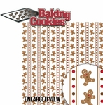 Naughty or Nice: Baking Cookies 2 Piece Laser Die Cut Kit