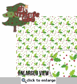 Naughty or Nice: Oh Christmas Tree 2 Piece Laser Die Cut Kit