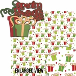 Naughty Or Nice: Opening Presents 2012 2 Piece Laser Die Cut Kit