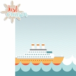 Nautical: Cruisin' 2 Piece Laser Die Cut Kit