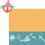 Nautical: Excursions 2 Piece Laser Die Cut Kit