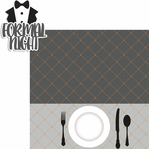 Nautical: Formal Night 2 Piece Laser Die Cut Kit