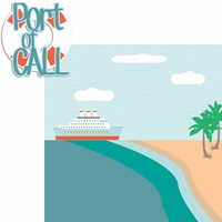 Nautical: Port of Call 2 Piece Laser Die Cut Kit
