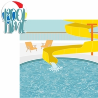 Nautical: The Pool 2 Piece Laser Die Cut Kit