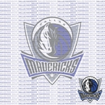 NBA Fanatic: Dallas Mavericks 12 x 12 Paper