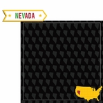 Nevada Travels: NV label 2 Piece Laser Die Cut Kit