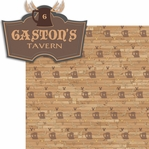 New Fantasy Land: Gaston's Tavern 2 Piece Laser Die Cut Kit