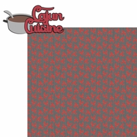 New Orleans: Cajun Cuisine 2 Piece Laser Die Cut Kit