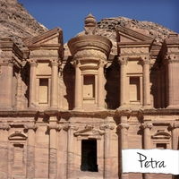 New Wonders: Petra 12 x 12 Paper