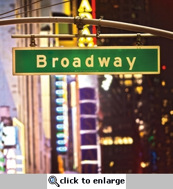 New York: Broadway 12 x 12 Paper