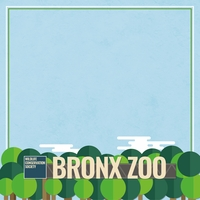 New York: Bronx Zoo 12 x 12 Paper