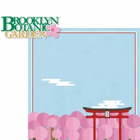 New York: Brooklyn Botanic Garden 2 Piece Laser Die Cut Kit