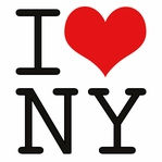 New York City: I Heart NY 12 x 12 Paper