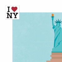 New York: I Love NY 2 Piece Laser Die Cut Kit